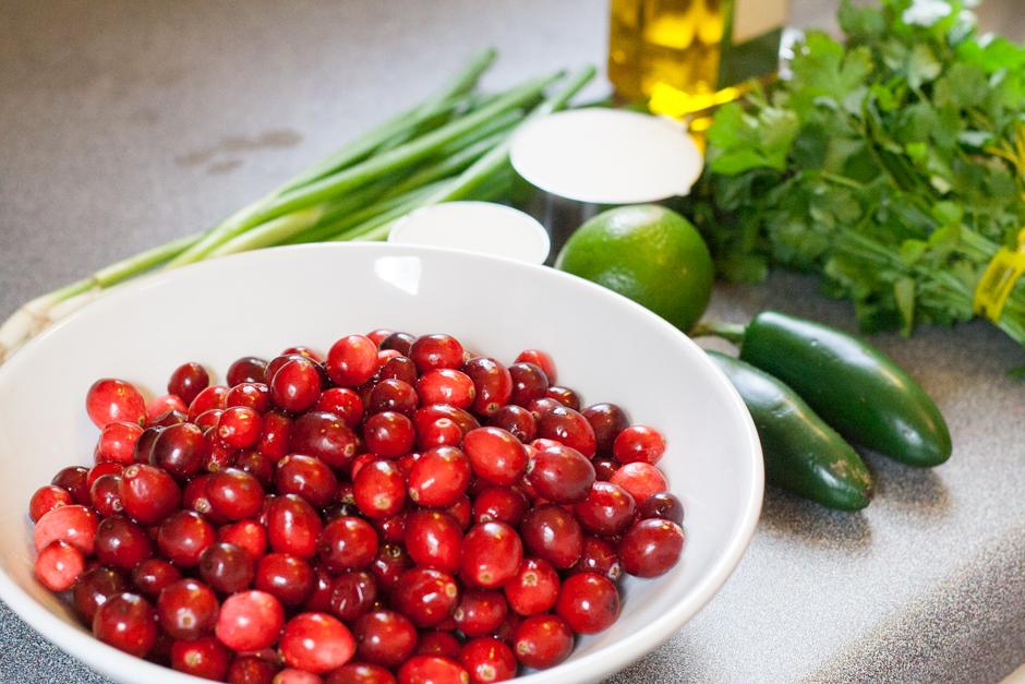 Cranberry Jalapeno Salsa Ingredients-1