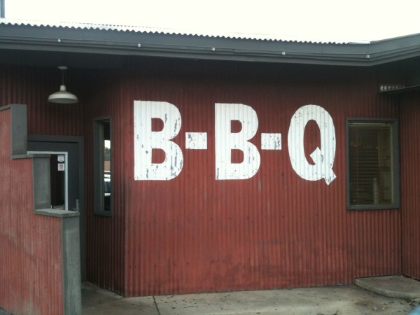 BBQ Station Sign San Antonio BBQ