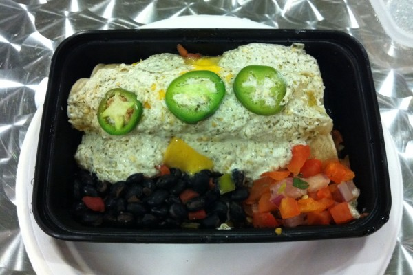 My Fit Foods 21 Day Challenge enchiladas