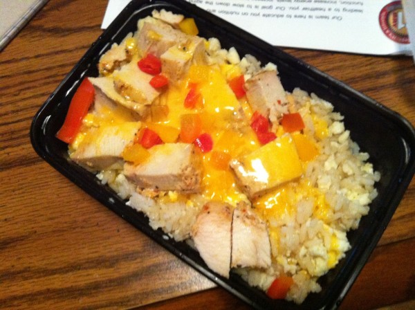 My Fit Foods 21 Day Challenge Turkey Mix and Mash