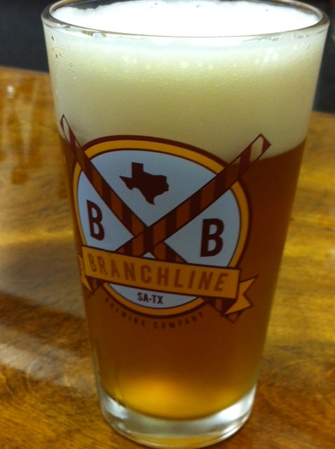 Branchline Brewing, Shady Oak Honey Blonde Beer
