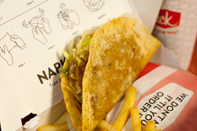 Jack in the Box Tacos Munchie Meal