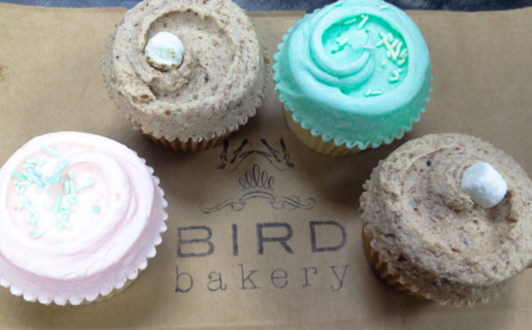 Bird Bakery Cupcakes
