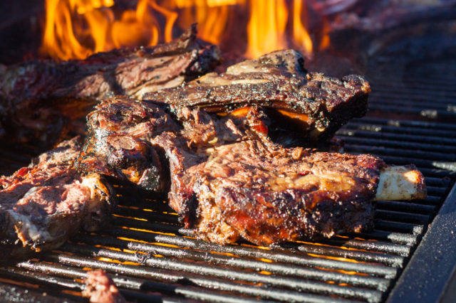 Flame Grilled Bison Meatopia John Tesar