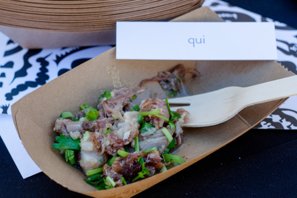 Meatopia TX Chef Paul Qui Sizzling Sisig