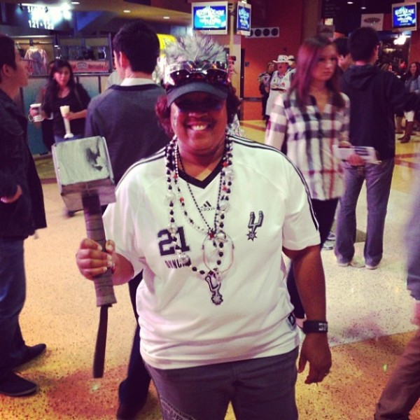 SA Flavor Spurs Fan of the Game Nov 8