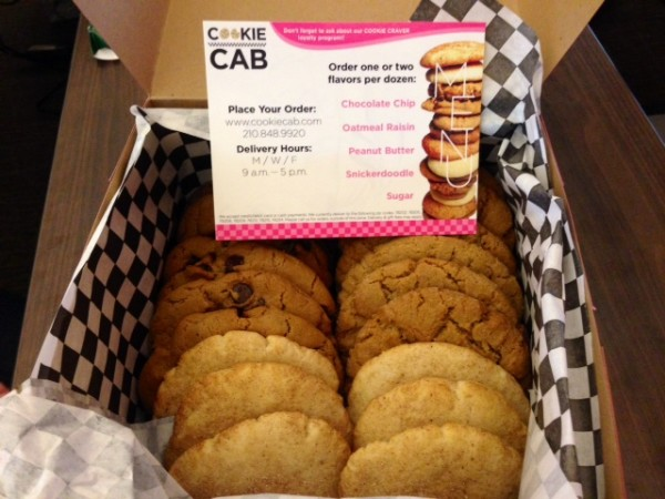 Cookie Cab, Cookie Delivery, Chocolate Chip, Peanut Butter, Snickerdoodle