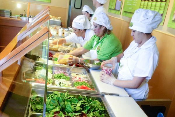 Salata Salad Bar Healthy San Antonio Eats