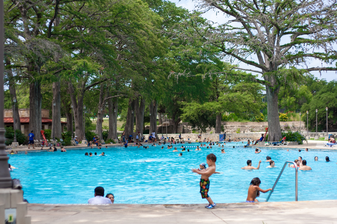 San Pedro Springs Pool San Antonio