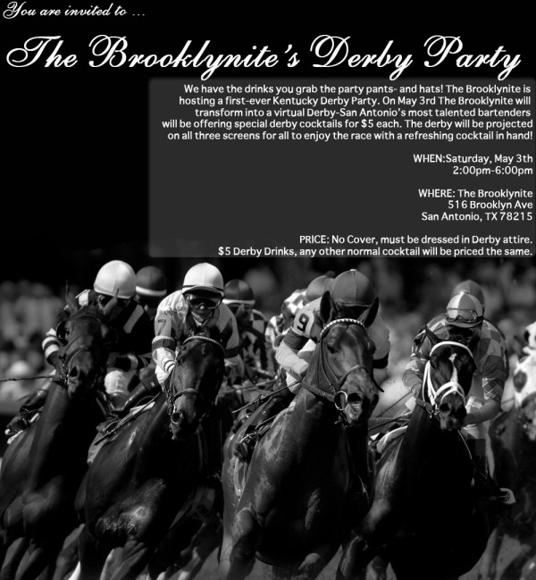 Brooklynite's Derby Party May 3
