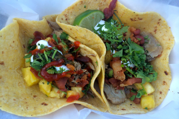 Culinaria 2014 Food Truck Event Duk Tacos from Duk Truck