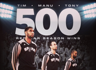The Spurs 'Big 3' courtesy of @spurs Instagram account.
