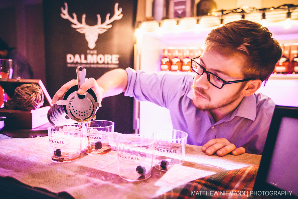 Making the perfect pour at the Waldorf on the Prairie. Photo by Matthew Niemann.
