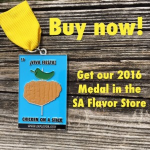 Buy 2016 SA Flavor Fiesta Medal Chicken on a Stick