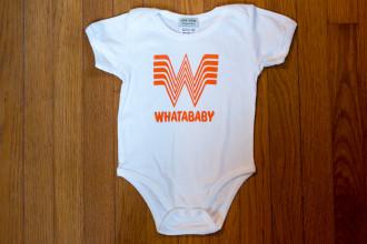 Whataburger Whatababy Onesie-1