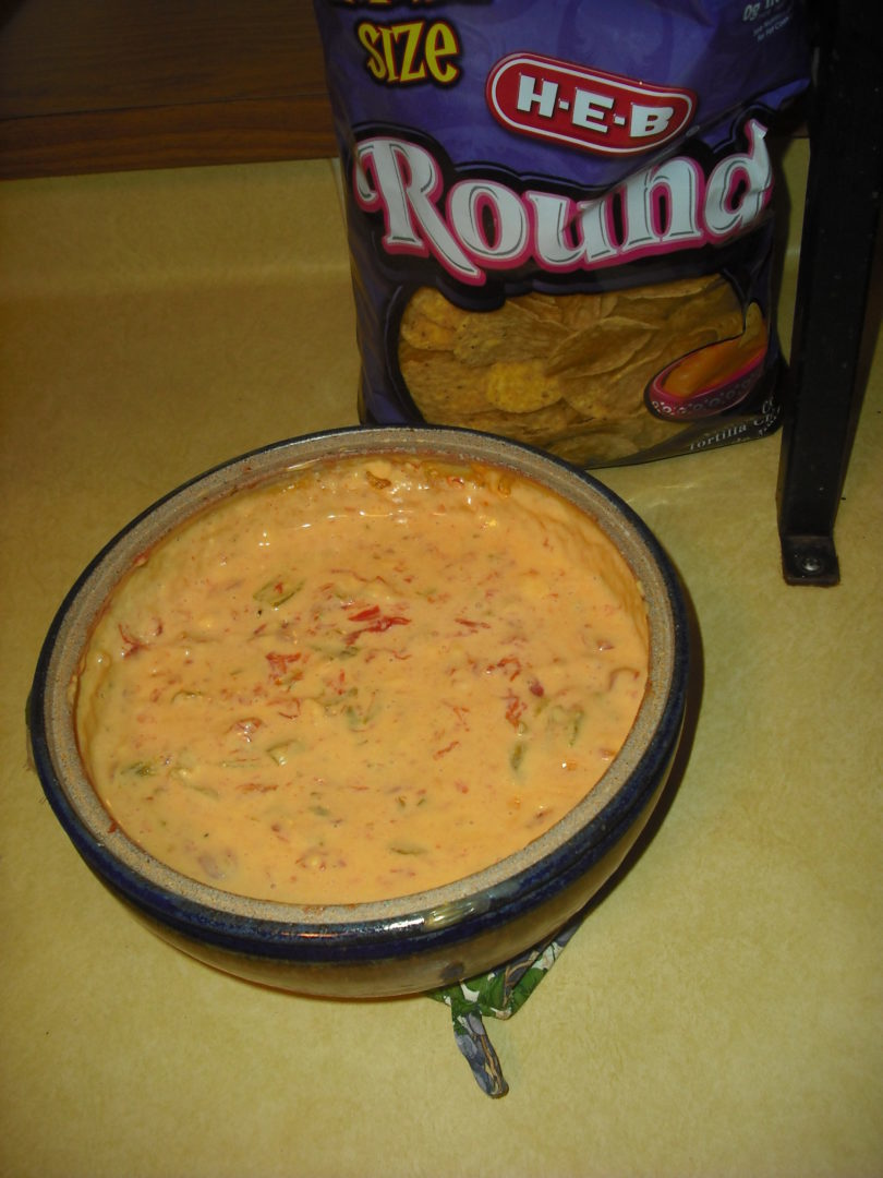 Green Chile Post 2 – Mom's Queso Recipe