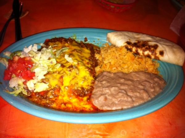 Perico's Mexican Food San Antonio Parrot Tail Enchiladas