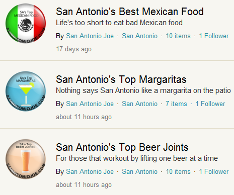 San Antonio Joe Guides on Foodspotting
