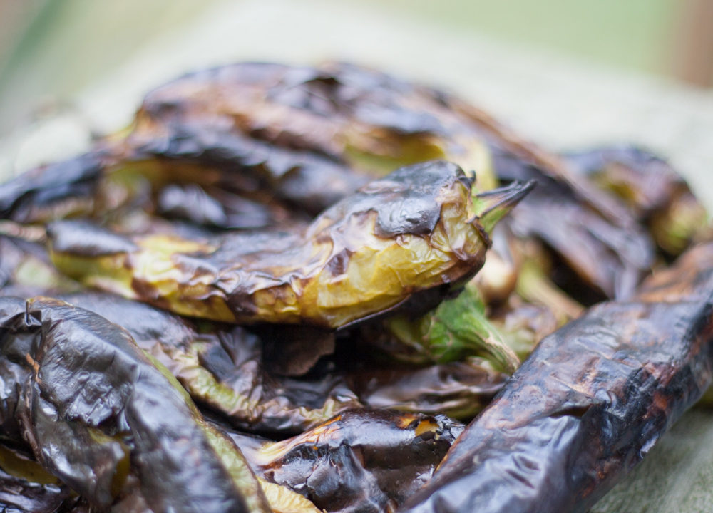 How to Roast Hatch Green Chiles [VIDEO]