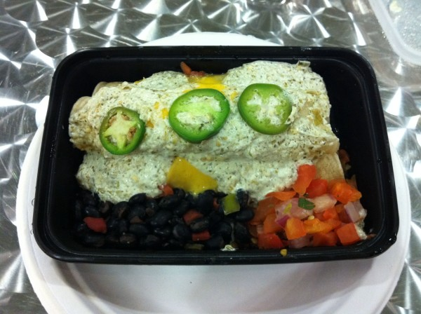 My Fit Foods 21 Day Challenge enchiladas