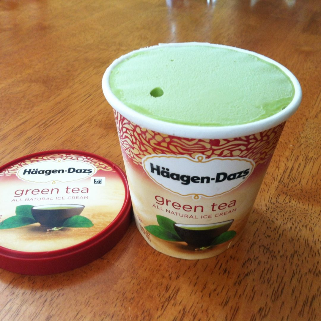 Ice Cream Review: Häagen-Dazs Green Tea