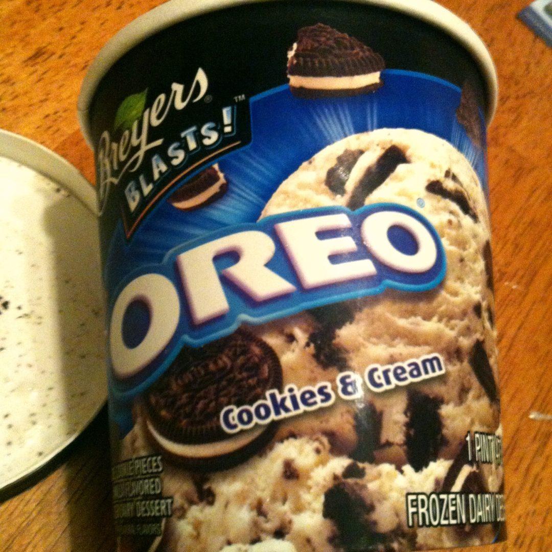 Ice Cream Review Breyers Blasts Oreo Cookies And Cream