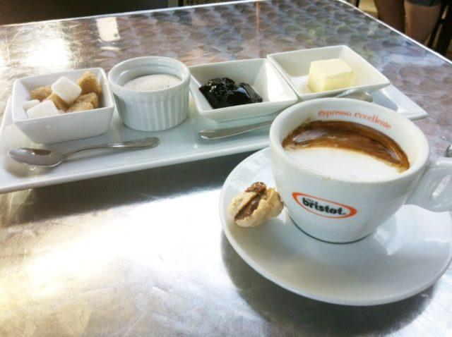 Il Sogno Breakfast Pearl Brewery Coffee