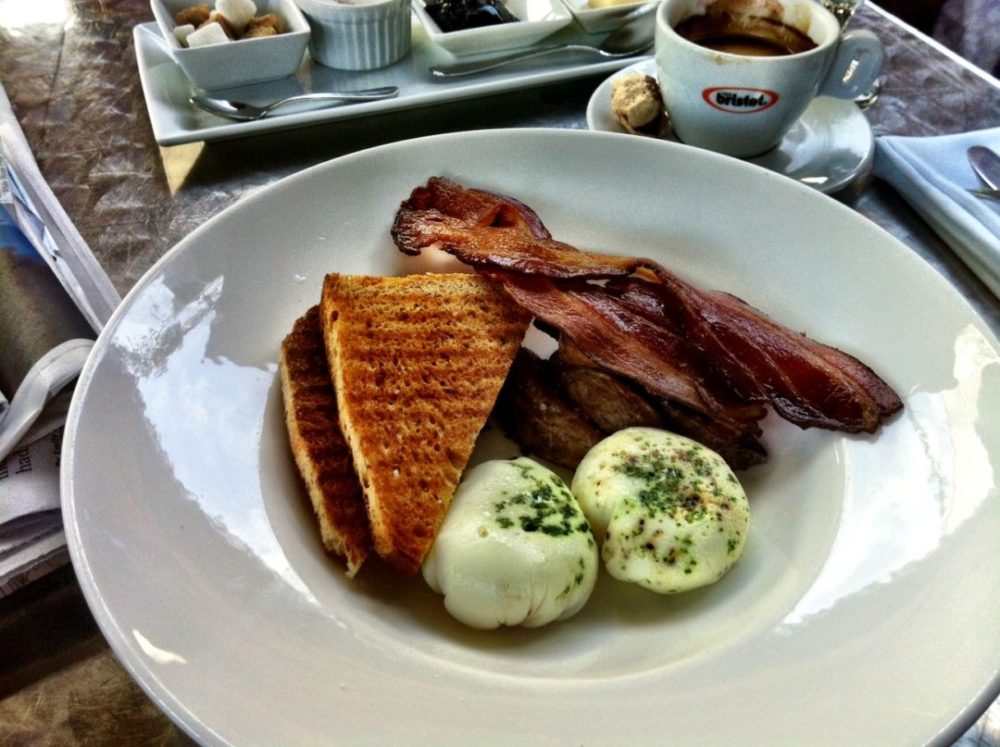 Fancy Breakfast at Il Sogno Osteria in the Pearl Brewery