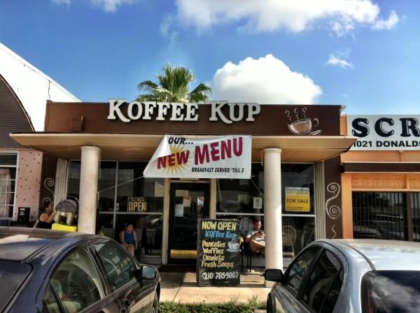 Koffee Kup Restaurant Westside San Antonio Breakfast