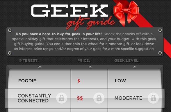 Last Minute Shopping: Geek Gift Guide