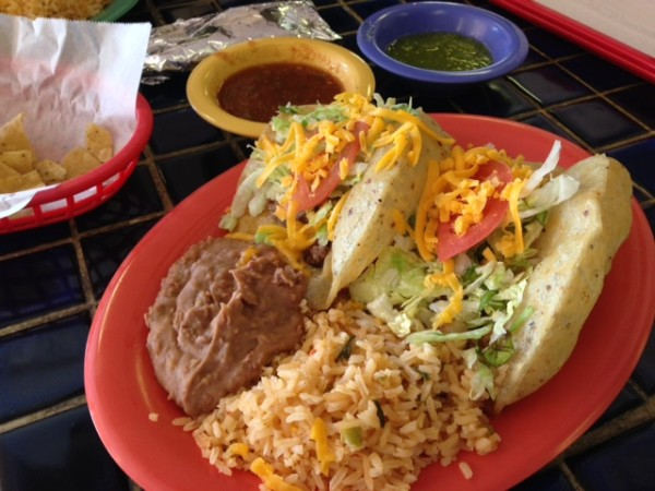 The Puffy Tacos at Teka Molino.