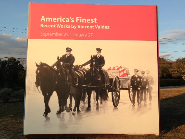 Final Weekend For Vincent Valdez's 'America's Finest' Exhibit