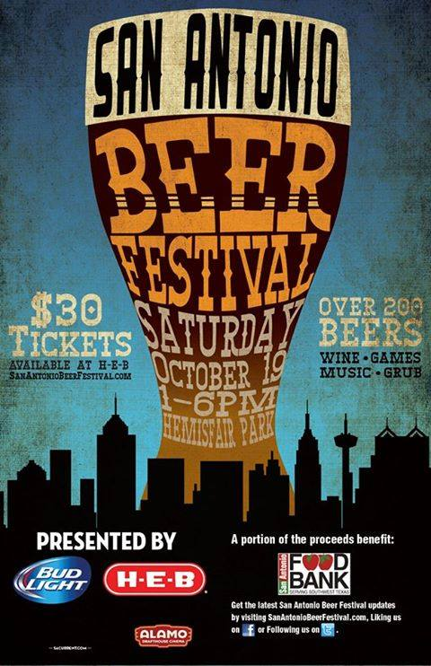 Sa beer festival oct 19 for Craft beer store san antonio
