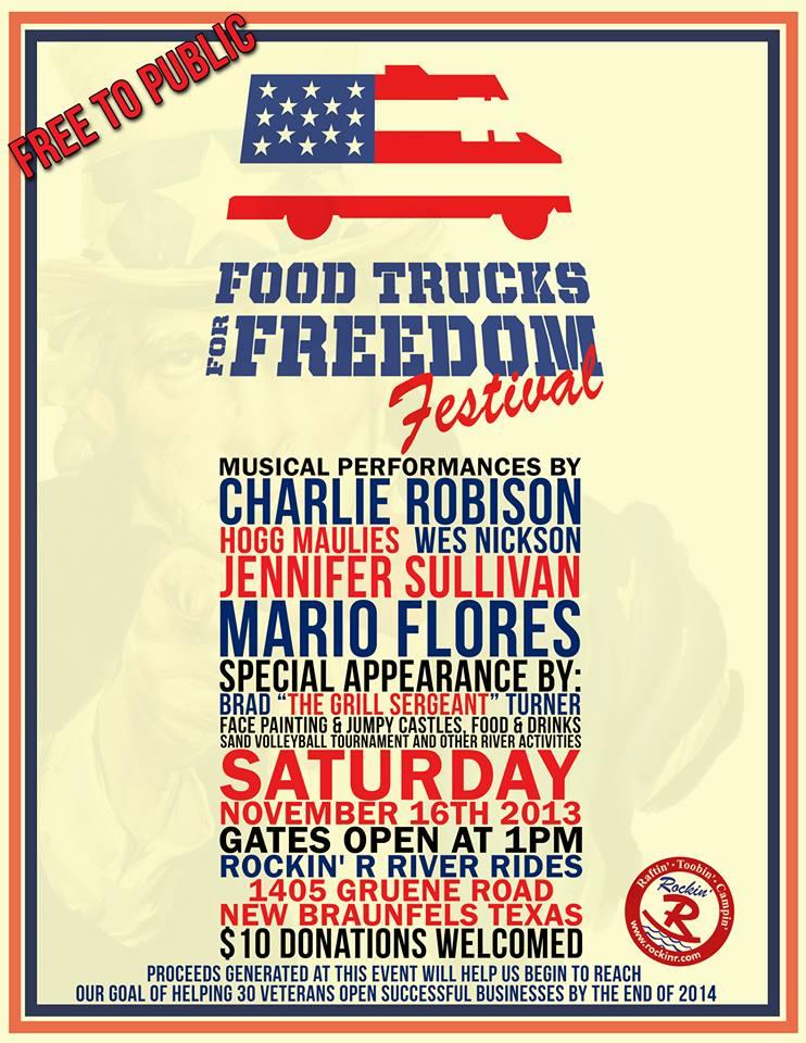 Food Trucks For Freedom: Nov 16