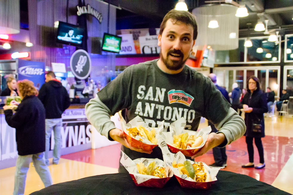 All-Star Food at the San Antonio Spurs Game [VIDEO]