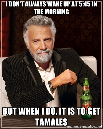 I Don't Always Wake Up At 5:45 AM…