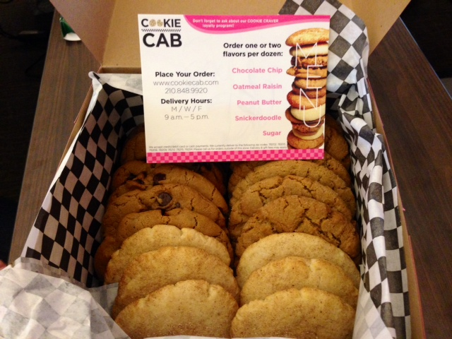 Cookie Cab Delivers On-Demand Sweets to Your Home or Office