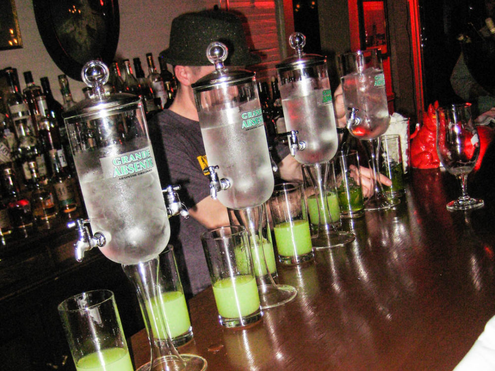 Dancing with the Green Fairy: Absinthe Tasting at Minnie's Tavern
