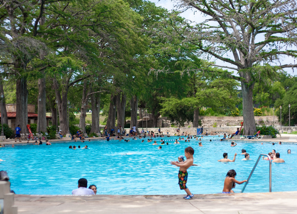 San Pedro Springs Park Swimming Pool - SA Flavor