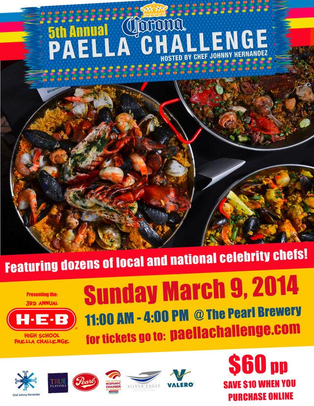5th Paella Challenge: March 9