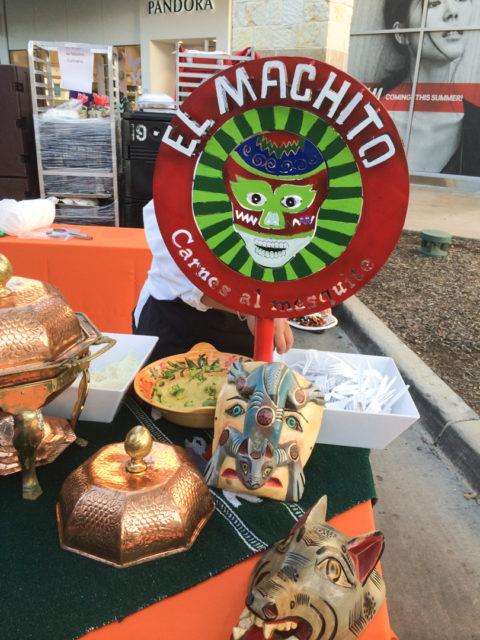 Culinaria 2014 Best of Mexico El Machito's setup