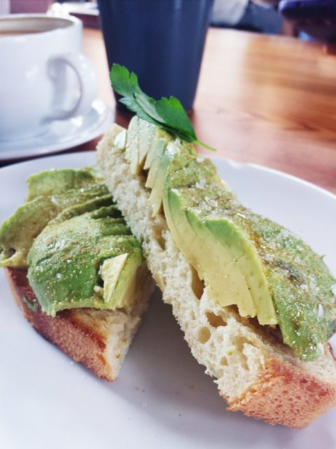 Rosella Coffee Co Avocado Toast