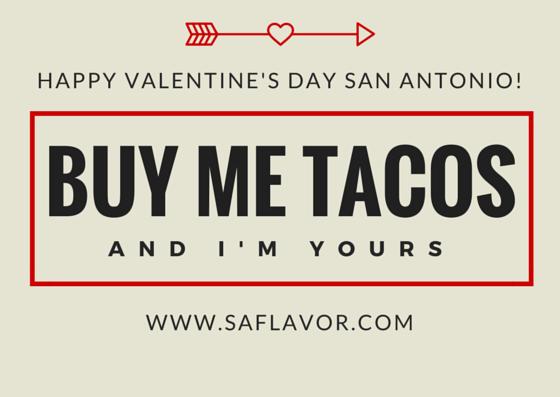Happy Valentine's Day San Antonio!