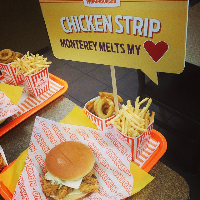 Whataburger's Chicken Strip Monterey Melt and Video Competition