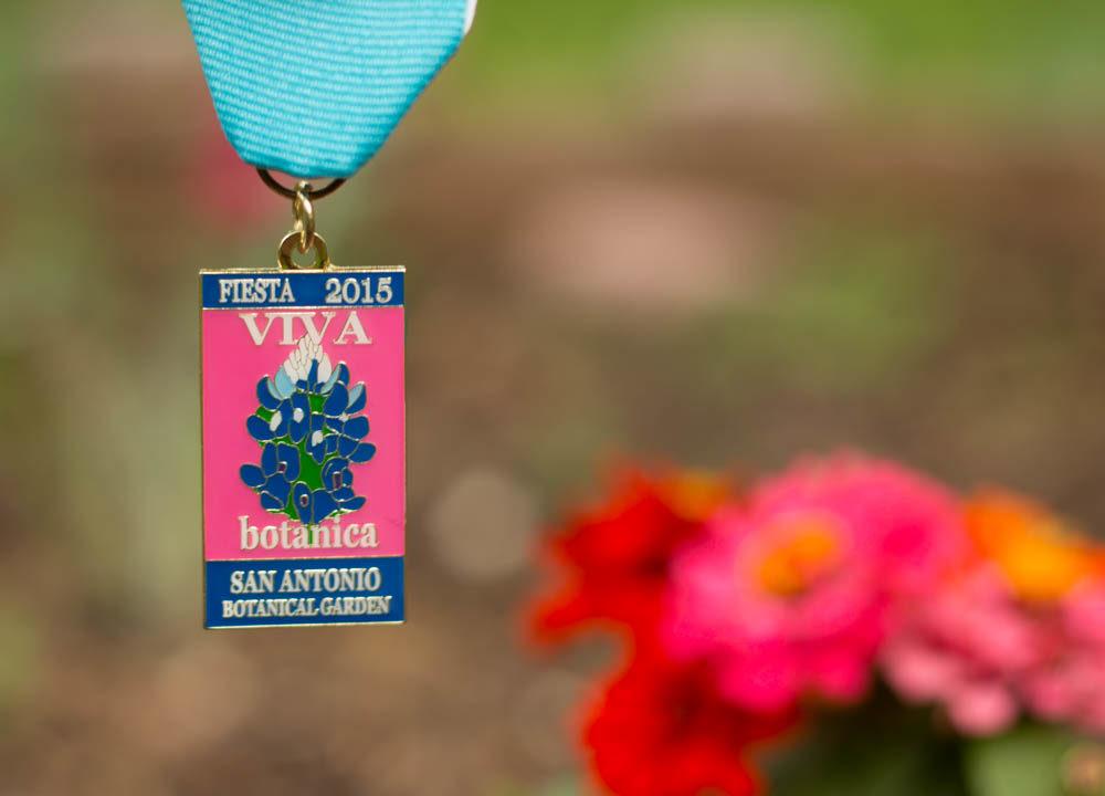 San Antonio Botanical Garden 2015 Fiesta Medal SA Flavor