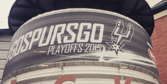 Spurs Playoffs courtesy of Spurs Instagram.