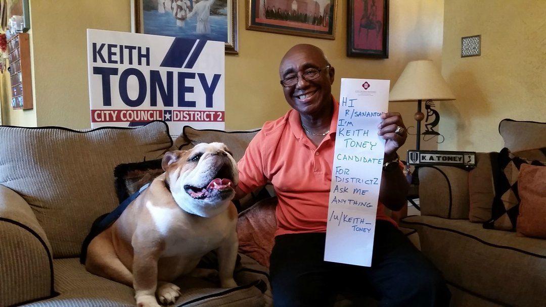 SA Flavor Endorses Keith Toney for District 2 Councilman