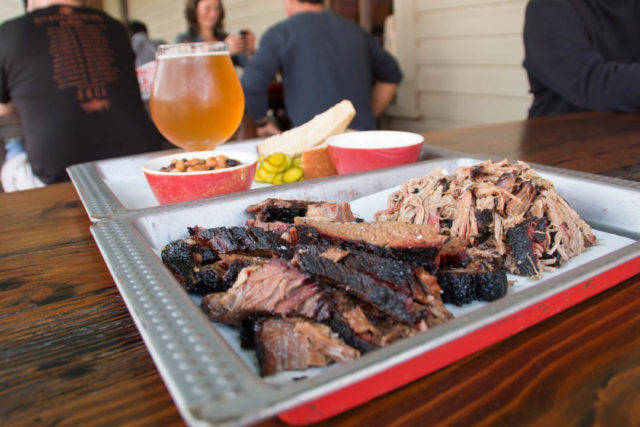 The Granary Brisket Pulled Pork Saison-1