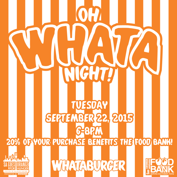 What-a-company: Whataburger Donates 20% of Tonight's Sales