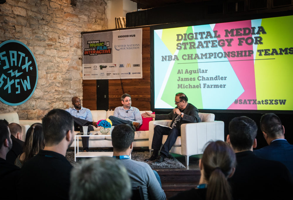 Digital Strategy from Championship Teams: Spurs at SXSW